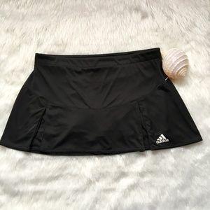 Adidas Black Climalite Skort Size Large
